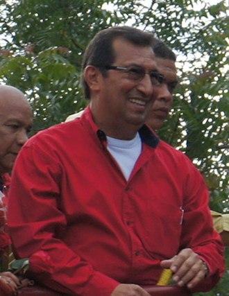 Adán Chávez - Image: Adán Chávez en 2012