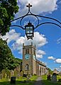 Addingham Parish Church, and lamp (2600584699).jpg