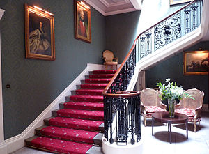 Addington Palace - The Grand Staircase within Addington Palace