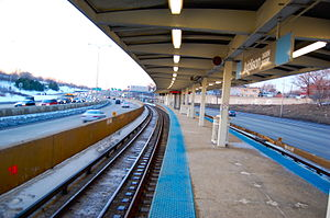 Addison station (CTA Blue Line) - Image: Addison Blue Line