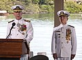 Adm. Scott H. Swift and Adm. Harry B. Harris Jr. take command of U.S. Pacific Command and U.S. Pacific Fleet. (17728542784).jpg