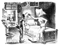 Adolf-Willette pseudo-medieval chastity-belt trade-card Theophile-Bein.jpg