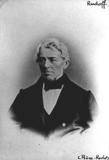 Adolf Friedrich Rudorff, 1857/58 Rektor der Friedrich-Wilhelm-Universität zu Berlin (Quelle: Wikimedia)