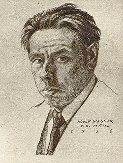 Adolf Wagner von der Mühl Austrian sculptor