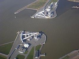Navigation Pass S-1 of Saint Petersburg Dam
