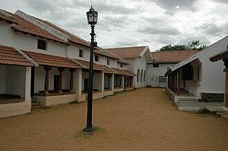 Agraharam - An Agraharam from Tirunelveli assembled within the DakshinaChitra museum.