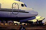 Air Atlantique DC-6F at CVT (16141493011).jpg