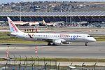 Air Europa, Embraer ERJ-195LR, EC-LKM - MAD (22393019845).jpg