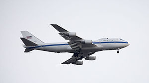 595th Command and Control Group - Boeing E-4B Airborne Command Post
