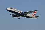 Airbus A320-232 G-EUUU British Airways (6885802564).jpg