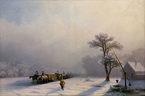 Aivazovsky Winter Caravan on Road.jpg