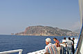 Alanya Castle Wall from ship to Cyprus (2003).jpg