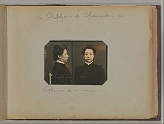 Album of Paris Crime Scenes - Attributed to Alphonse Bertillon. DP263706.jpg