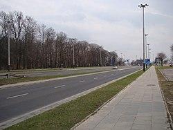 Aleja Jana Pawła II w Łodzi.JPG