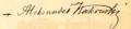 Aleksander Kakowski - signature.png