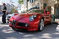 Alfa Romeo 8C 2008 Competizione LSideFront CECF 9April2011 (14600912555).jpg