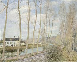 Alfred Sisley - The Loing's Canal - Google Art Project.jpg