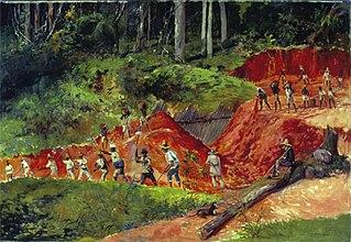Construção de Açude - Fazenda Cachoeira - Campinas