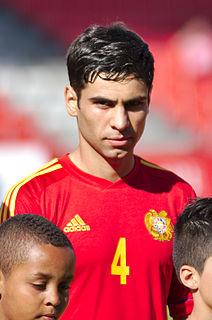 Taron Voskanyan Armenian footballer
