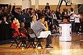 All-Star Game Weekend Robert Horry at NBA All-Star Center Court 2016 (2) (25011683656).jpg