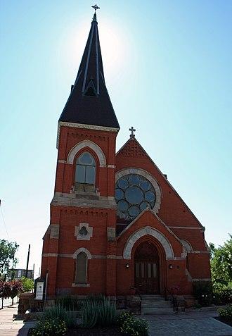All Saints Episcopal Church (Denver) - Image: All Saints Denver