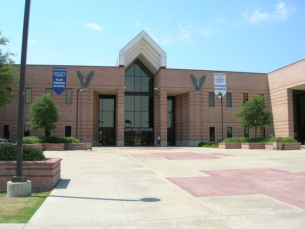 File Allen High School Allen Texas Jpg Wikipedia