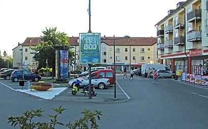 Vägbeskrivningar till Trollbäcken Centrum med kollektivtrafik