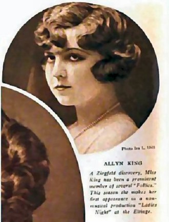Allyn King - King in Theatre Magazine, 1920