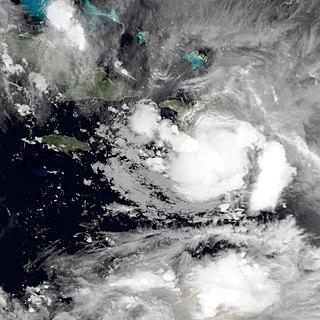 Tropical Storm Alpha (2005) Atlantic tropical storm in 2005