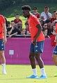 Alphonso Davies Training 2019-09-01 FC Bayern Muenchen-2.jpg