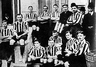 Alumni Athletic Club - Alumni won a total of four championships in 1906.