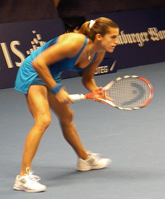 Amélie Mauresmo - Mauresmo at Fortis Championships 2008