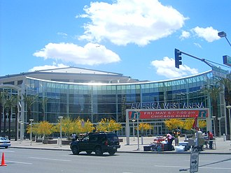 Talking Stick Resort Arena - Then-America West Arena in April 2005