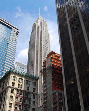 70 Pine Street - Image: American International Building 3