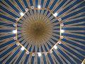 Amman König-Abdullah-Moschee Innen Kuppel 6.JPG