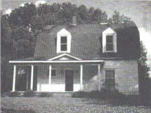 Princeton, Kentucky - Amoss House, home of Dr. David Amoss, leader of the Night Riders
