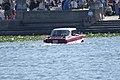 Amphicar 770 1965 0479 Morning swim 03 Lake Mirror Cassic 16Oct2010 (14897219523).jpg