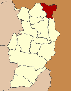 Amphoe location in Nan Province