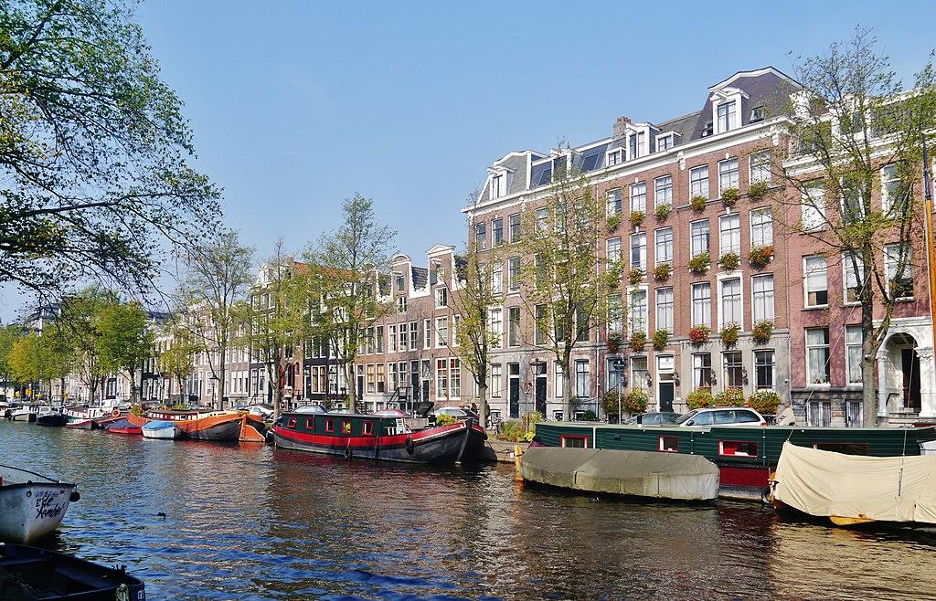 Hébergement dans le quartier des Canaux à Amsterdam - Photo de Zairon