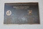 Amway Center, Orlando Events Center plaque.jpg