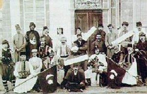 An early Turkish-Cypriot theatre group