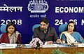 Anand Sharma addressing at the Annual Economic Editors' Conference-2008, oraganised by the Press Information Bureau, Ministry of Information & Broadcasting, Govt. of India, in New Delhi on November 26, 2008 (1).jpg