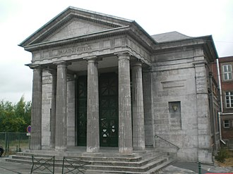 Avesnes-sur-Helpe - Old court house