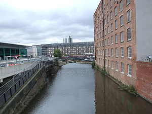 Great Ancoats Street - Brownsfield Mill, seen from Great Ancoats Street