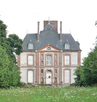 Ancretiéville-Saint-Victor - The chateau of Saint-Victor