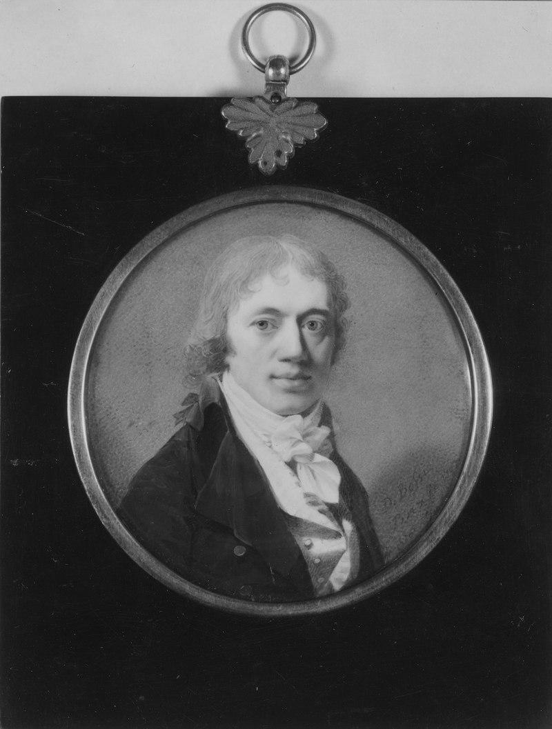 Андерс фон Варендорф (1759-1848), tysk riksfriherre, bergsråd, gift med Maria Charlotta Holterman - Nationalmuseum - 40141.tif
