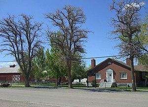 National Register of Historic Places listings in Tooele County, Utah - Image: Anderson Clark Farmstead Grantsville Utah