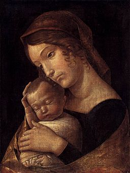 Andrea Mantegna - Madonna with Sleeping Child - WGA13976