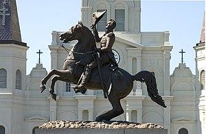 Clark Mills (sculptor) - Image: Andrew Jackson NO