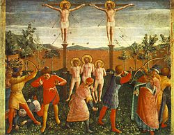 Fra Angelico: Crucifixion of Saints Cosmas and Damian